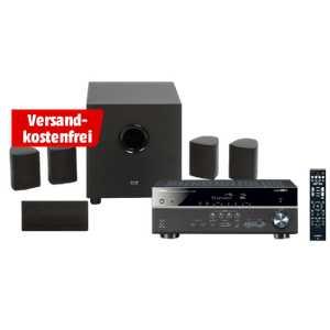 yamaha rx v483 cinema 5 heimkino system ipod steuerung bluetooth app steuerbar schwarz fuer 333e statt 696e