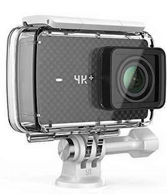 yi 4k plus action kamera 4k60fps 12mp action cam inkl gehaeuse und type c kabel fuer 21499e statt 28490e