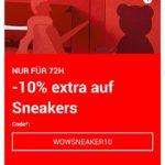 Zalando: 10% Extrarabatt auf Sneakers