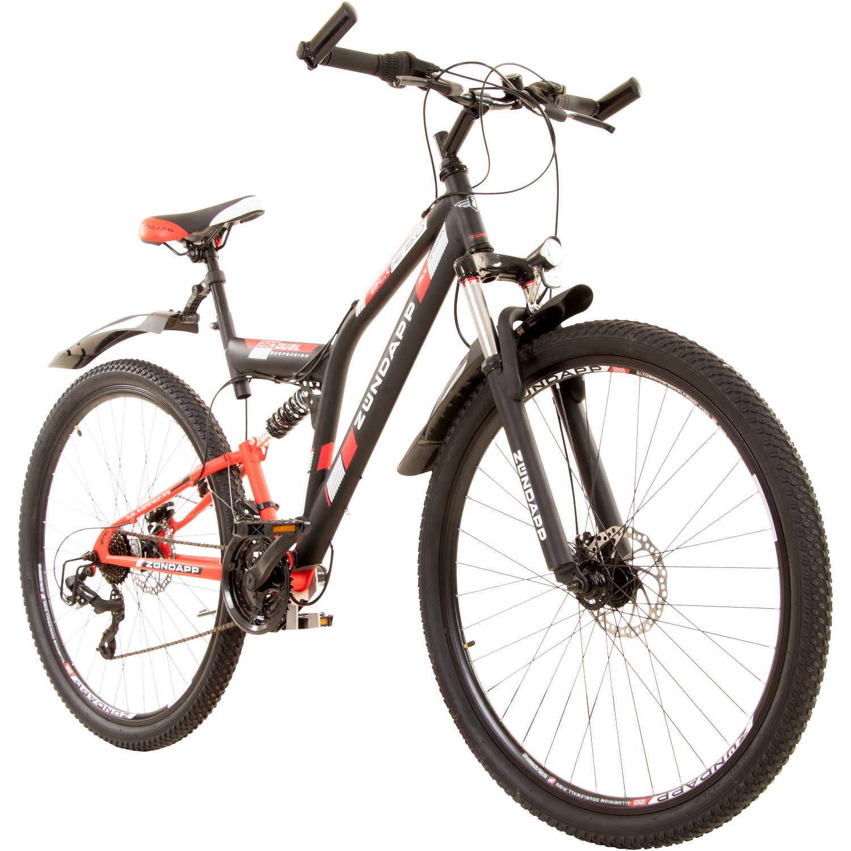 zuendapp blue 5 0 28 zoll fully mountainbike full suspension mtb fahrrad 28 rahmengroesse48 cm farbeschwarzrot fuer 19900 e statt 39900 e 4990 e vsk